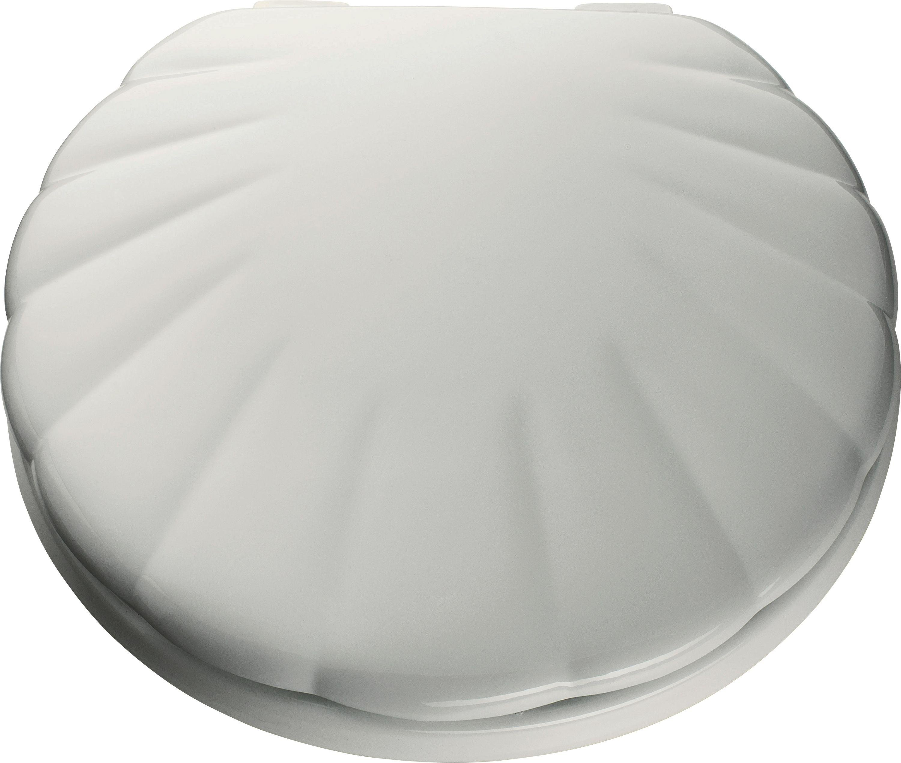 home shell toilet seat white. Black Bedroom Furniture Sets. Home Design Ideas