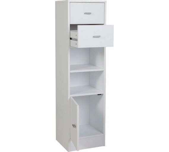 white slim woodluv free standing tall bathroom slp co shaker boy amazon cabinets unit storage uk cabinet units