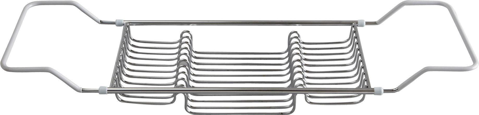 Image of HOME Over Bath Rack - Chrome Plated