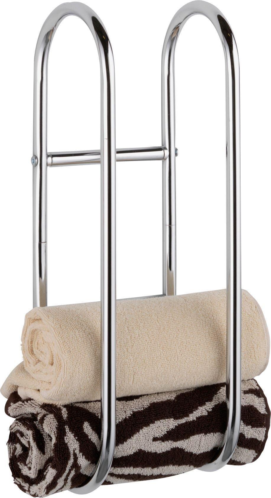Argos Home Wall Mounted Chrome Towel Holder