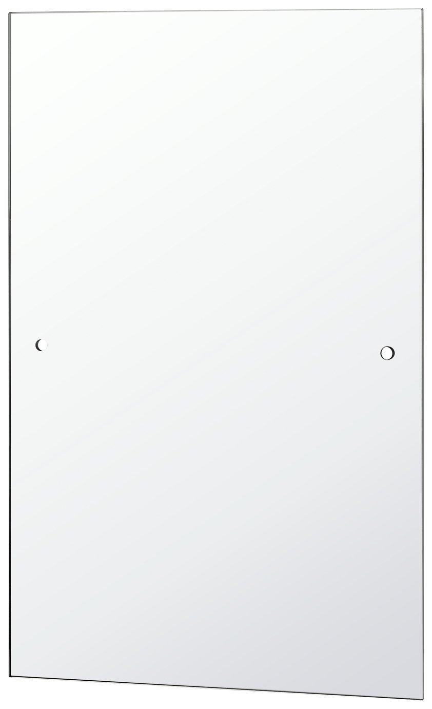 Argos Home Rectangular Bathroom Mirror - Silver