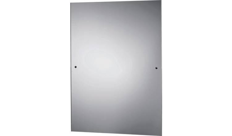 wholesale dealer 02465 db96c Buy Argos Home Rectangular Bathroom Mirror - Silver | Mirrors | Argos