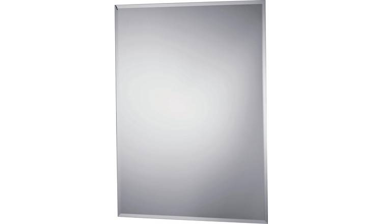 quite nice 7e287 c22d1 Buy Argos Home Rectangular Bevelled Bathroom Mirror - Silver | Mirrors |  Argos