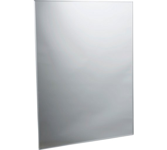 Buy Collection Rectangular Bevelled Bathroom Mirror