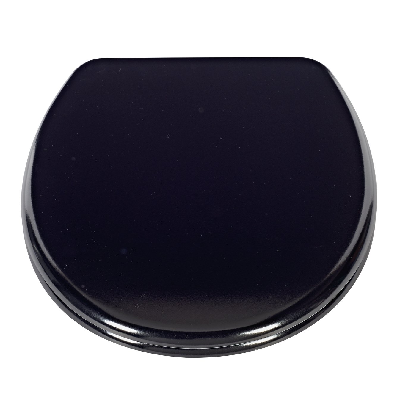 easy home toilet seat. home thermoplastic slow close easy clean toilet seat - black home