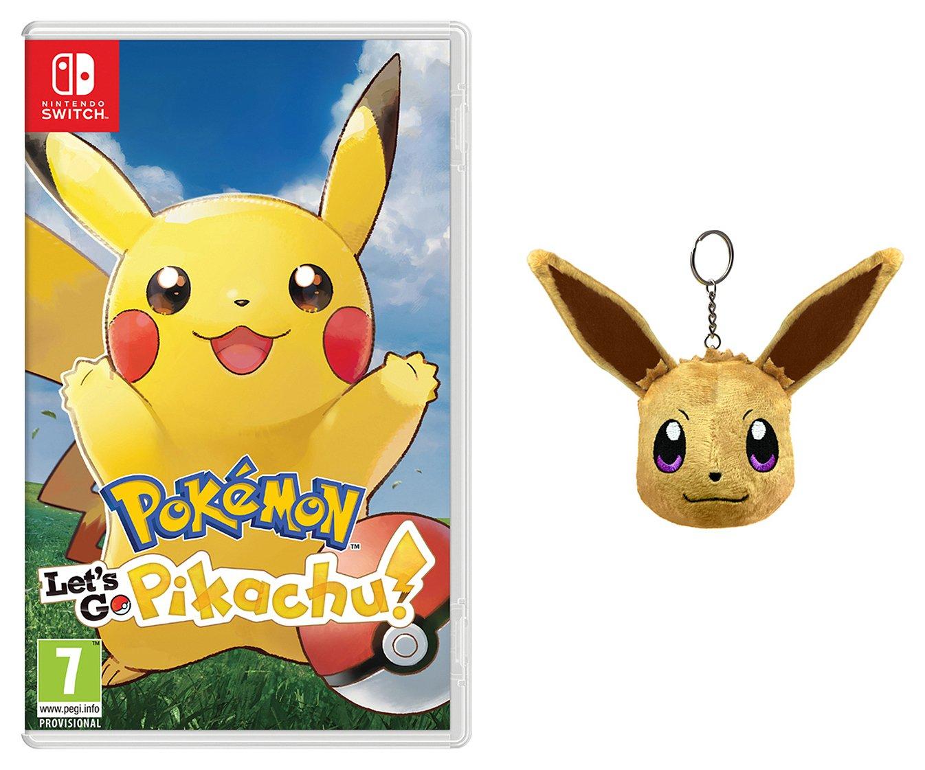 Pokemon Let's Go Pikachu Nintendo Switch Pre-Order Game