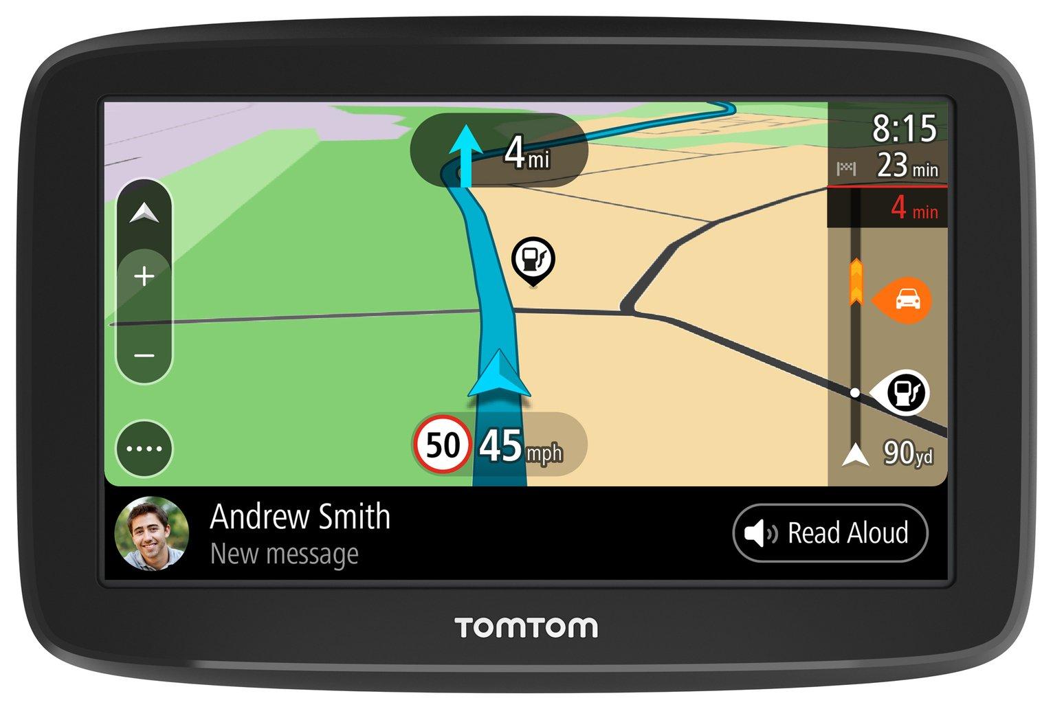 TomTom GO Basic 6 In Europe Lifetime Maps & Traffic Sat Nav