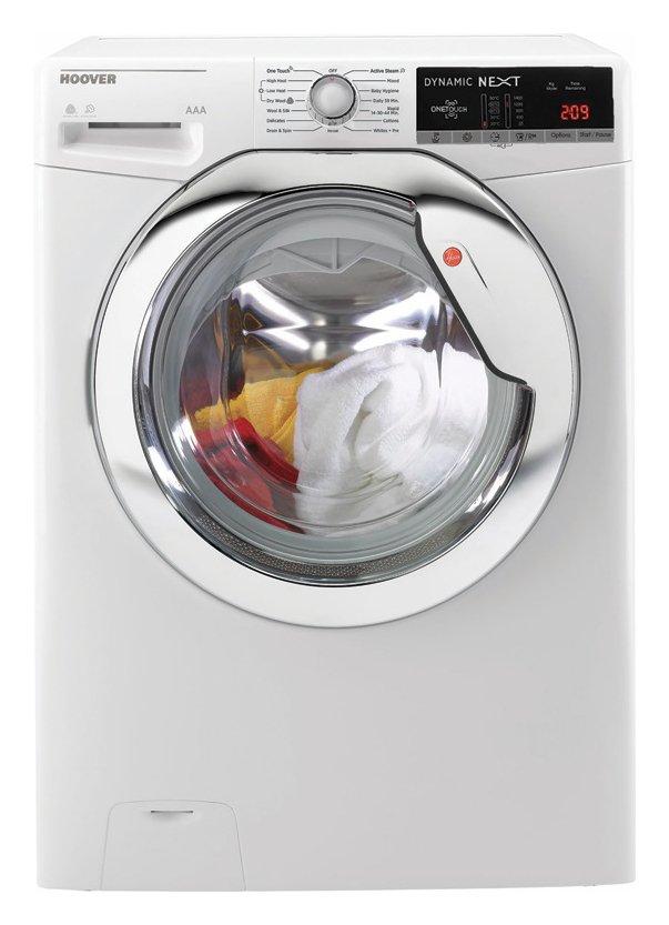 Hoover WDXOA4106HC 10KG / 6KG 1400 Spin Washer Dryer - White
