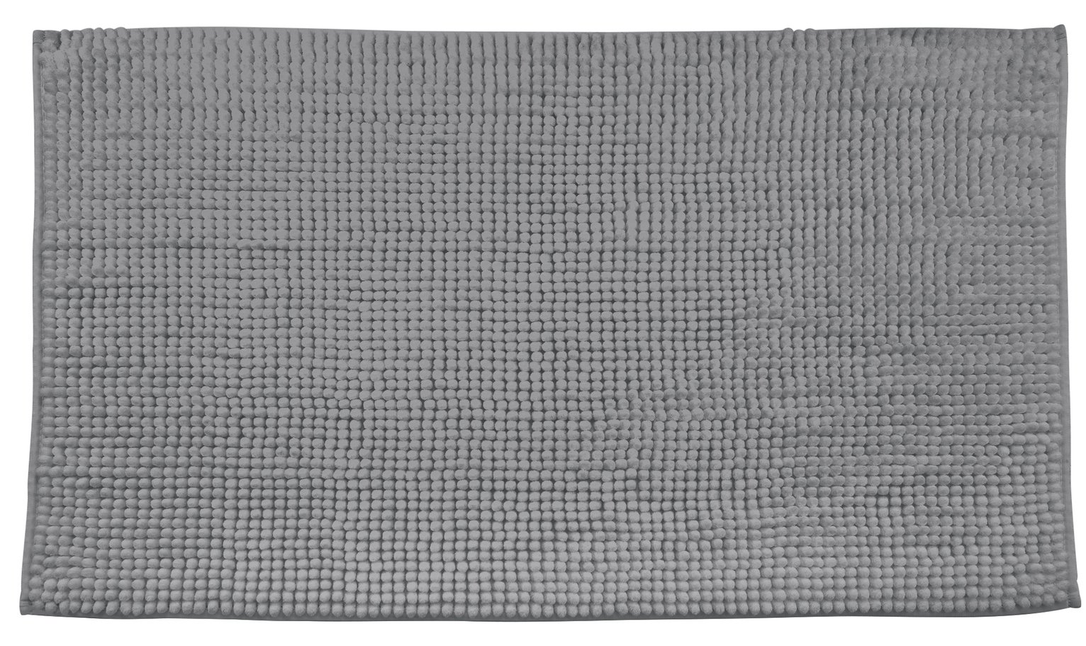 Argos Home Bobble Bath Mat - Dark Grey