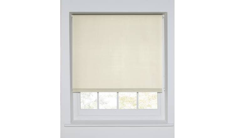 Argos Home Blackout Roller Blind - 6ft - Cream