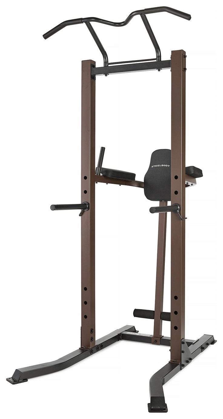 Steelbody by Marcy Pull Up and Dip Power Tower