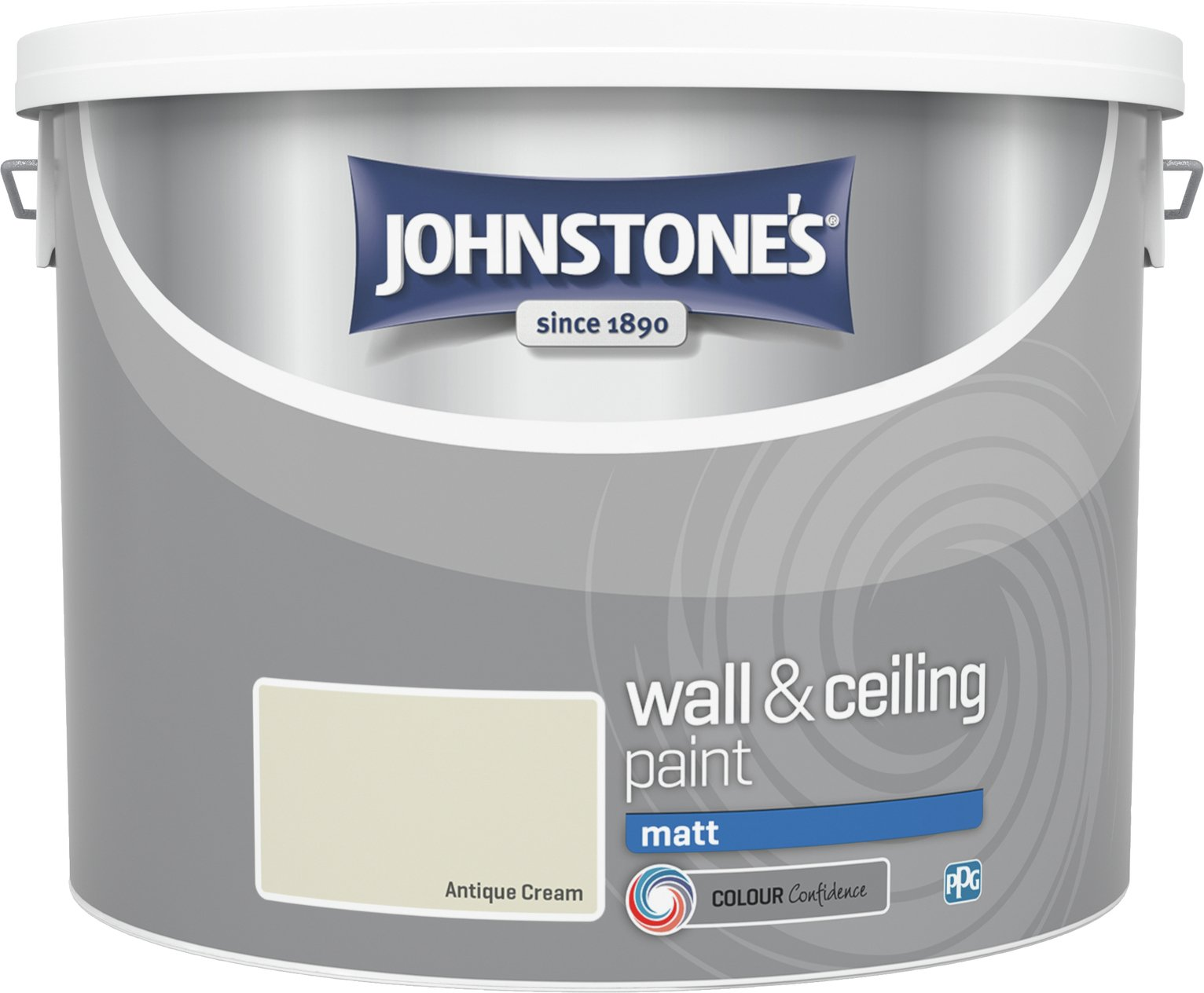Johnstone's Antique Matt Emulsion Paint 10 Litre - Cream