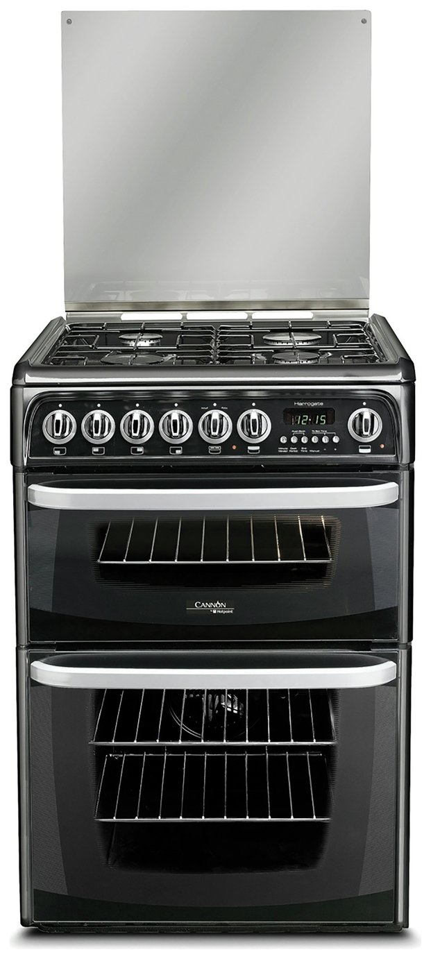 Hotpoint Cannon CH60DHKF Cooker - Black