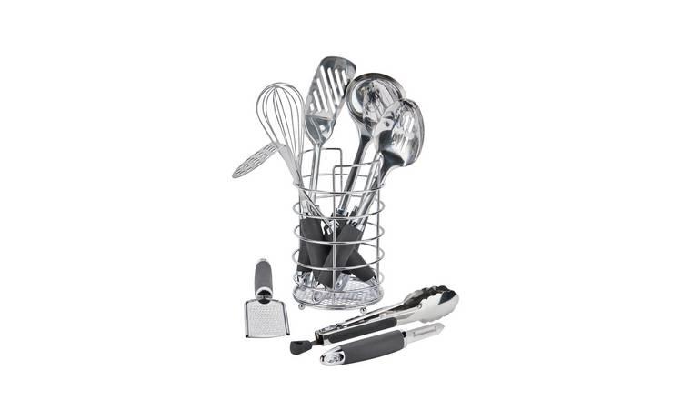Buy Argos Home 9 Piece Stainless Steel Kitchen Utensil Set Kitchen Utensils Argos