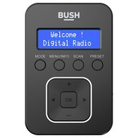 Bush Personal DAB Radio - Black