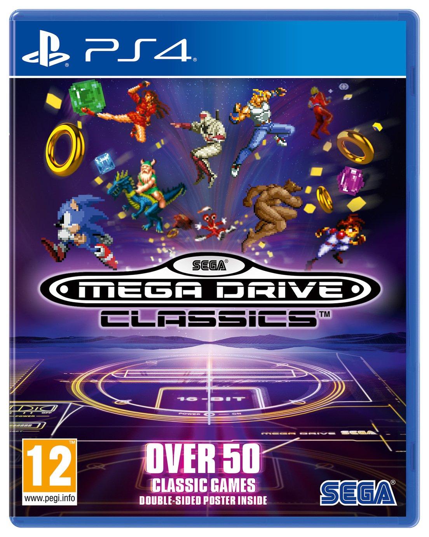 SEGA Mega Drive Classics PS4 Game
