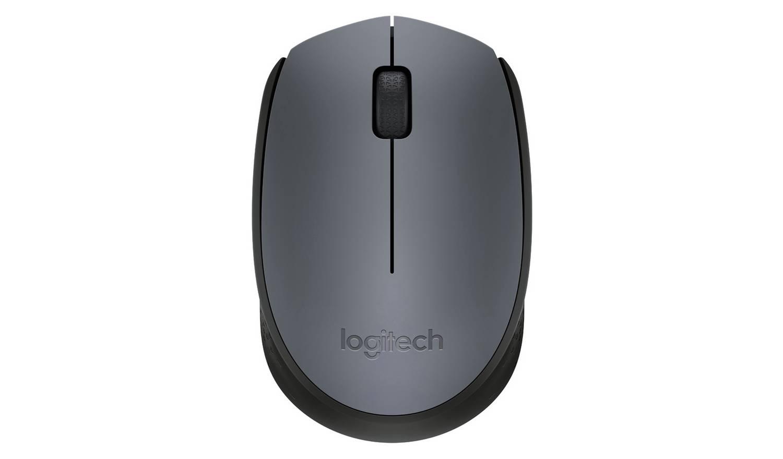 Logitech M170 Wireless Mouse - Grey