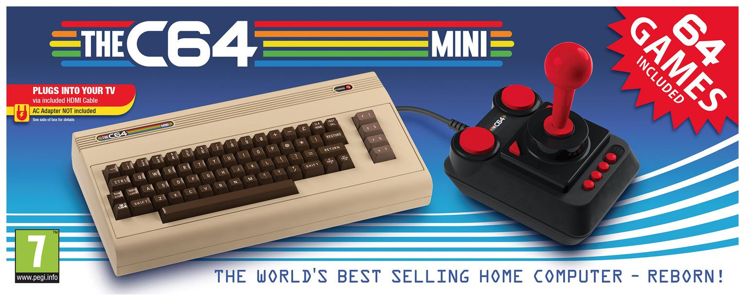 The Commodore 64 C64 Mini Console