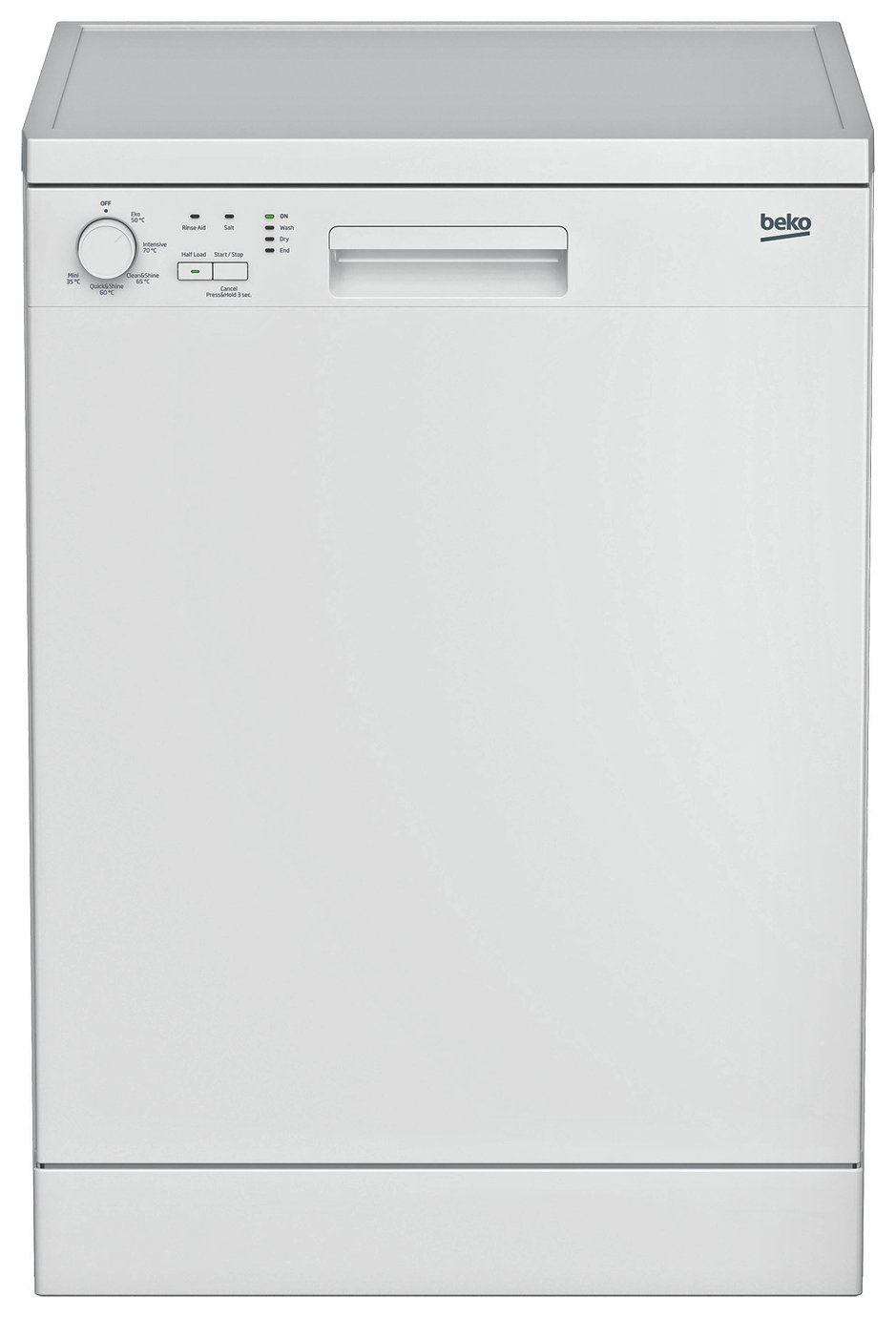 Beko DFN05310W Full Size Dishwasher - White