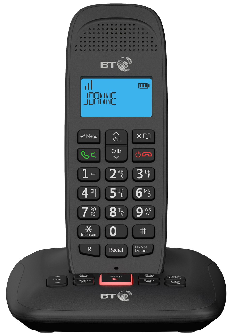 BT 3660 Cordless Telephone with Answer Machine - Single