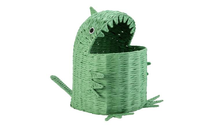 Argos Home Dinosaur Seagrass Laundry Basket