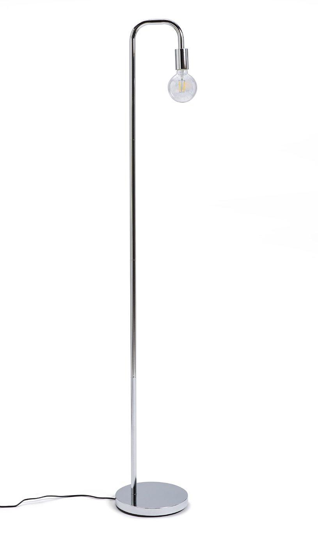 Habitat Rayner Floor Lamp - Chrome