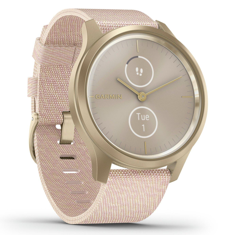 Garmin Vivomove Style Smart Watch Light Gold/Blush Pink Band