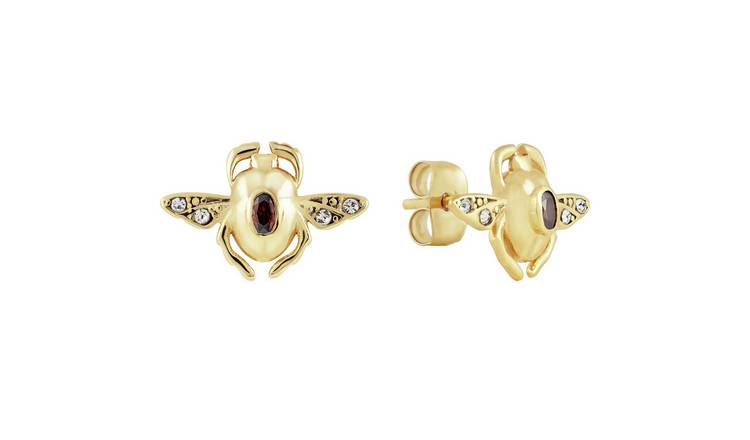 Disney Villains Scarab Stud Earrings