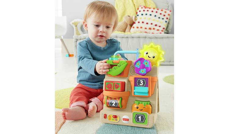 Fisher-Price Laugh & Learn Peek & Play Garden