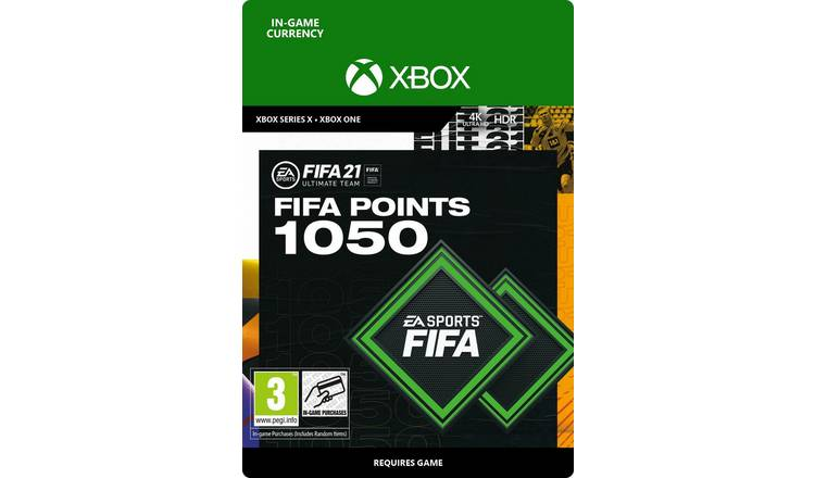 FIFA 21 Ultimate Team - 1050 FIFA Points - Xbox
