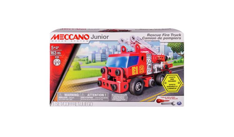 Meccano Junior Fire Engine Vehicle