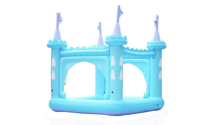 Teamson Kids 8ft Water Fun Blue Castle Kids Paddling Pool