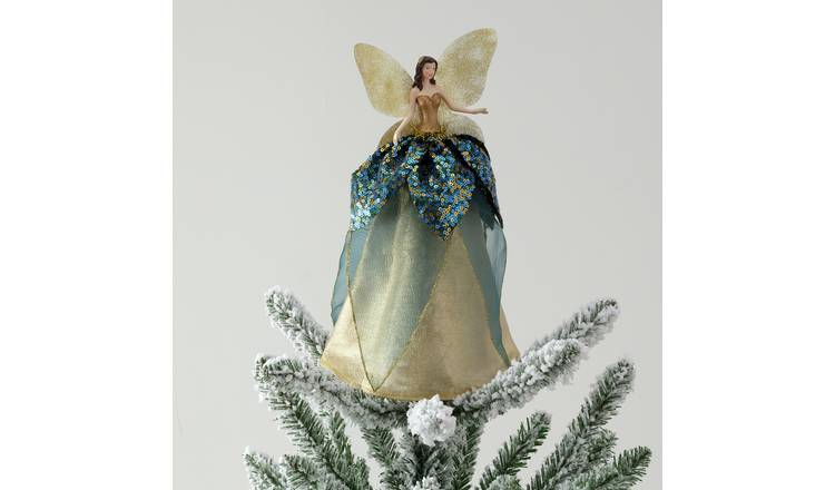 Buy Argos Home Enchanted Christmas Woodland Fairy Tree Topper Christmas Tree Decorations Argos