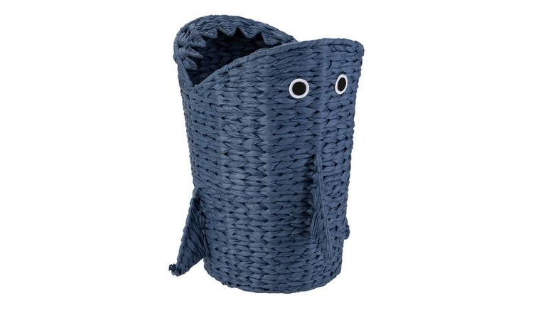 Argos Home Shark Seagrass Laundry Basket