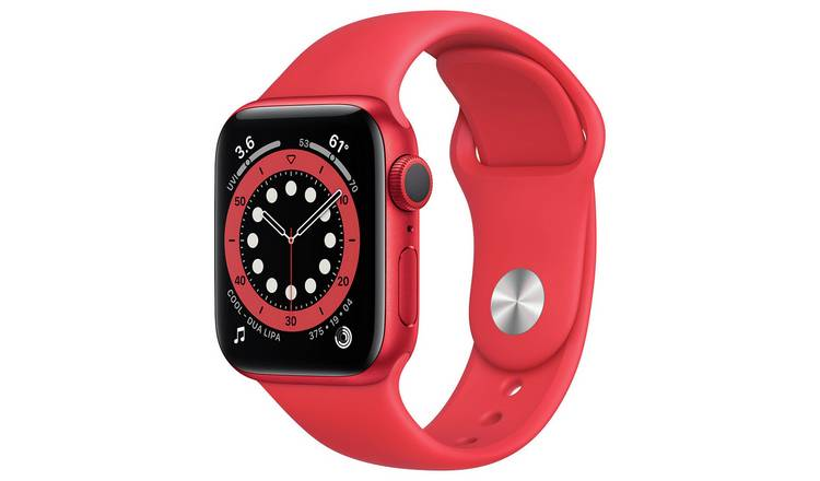 Apple Watch Series 6 GPS 40mm Red Alu Case/Sport Band