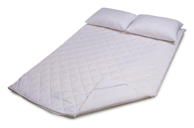 Argos Home 3cm Profile Mattress Topper and Pillows - Double