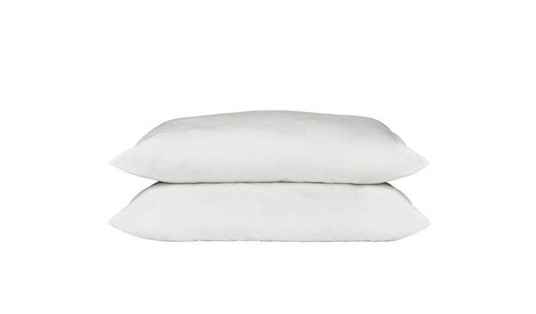 Argos Home Supersoft Washable Medium Pillow - 2 Pack
