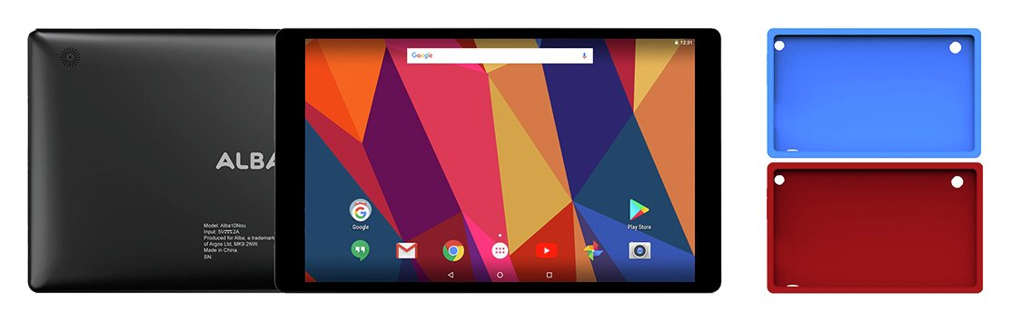 Alba 10 Inch 16GB Tablet - Black