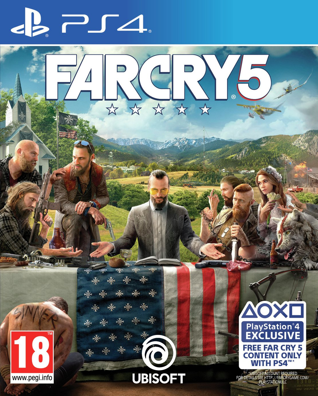 Image of Far Cry 5 PS4 Game