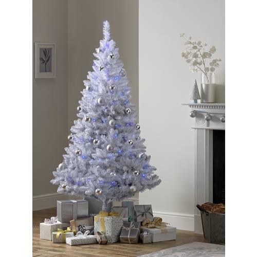 Buy Argos Home 6ft Christmas Tree - Grey Ombre ...