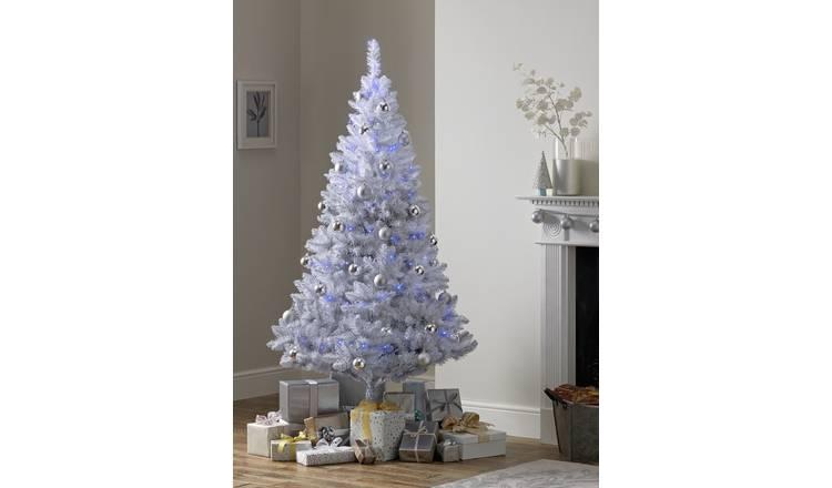 Buy Argos Home 6ft Christmas Tree Grey Ombre Christmas Trees Argos