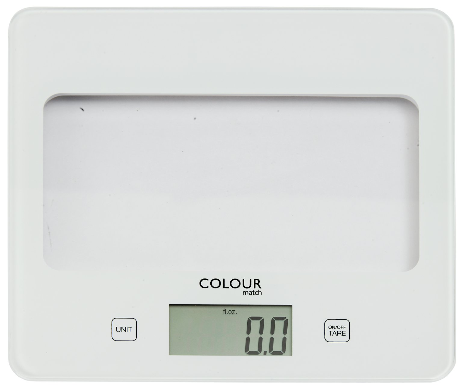 Argos Home Digital Kitchen Scale - Super White