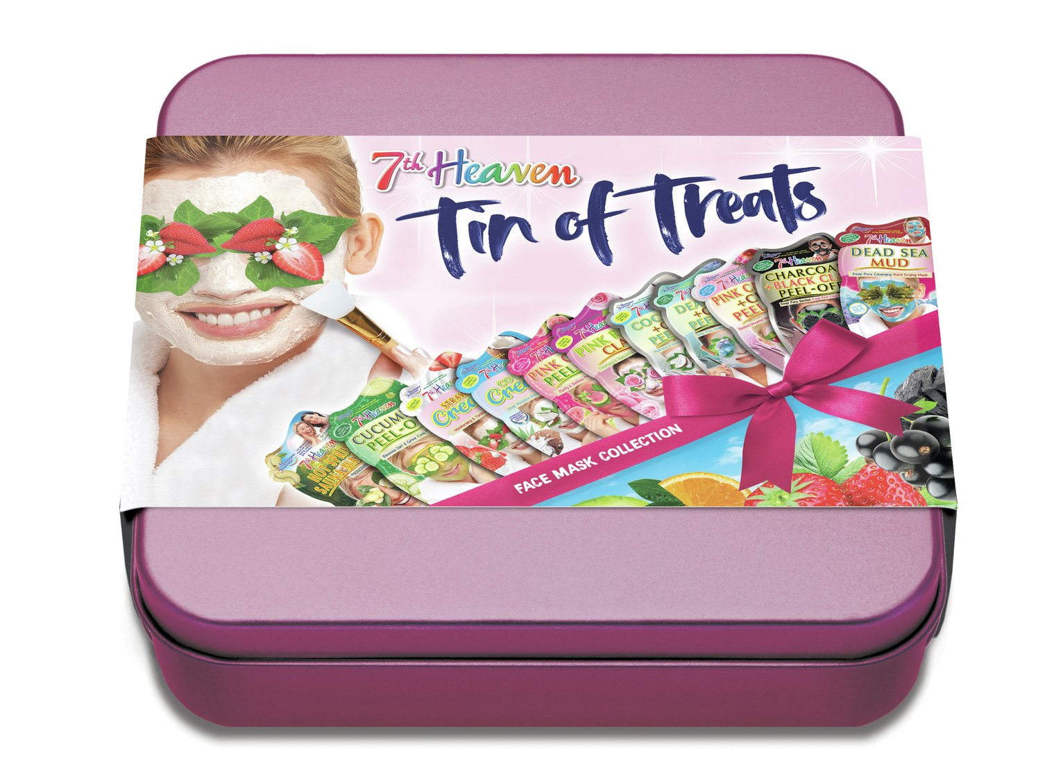 7th Heaven Tin Of Treats Gift Set