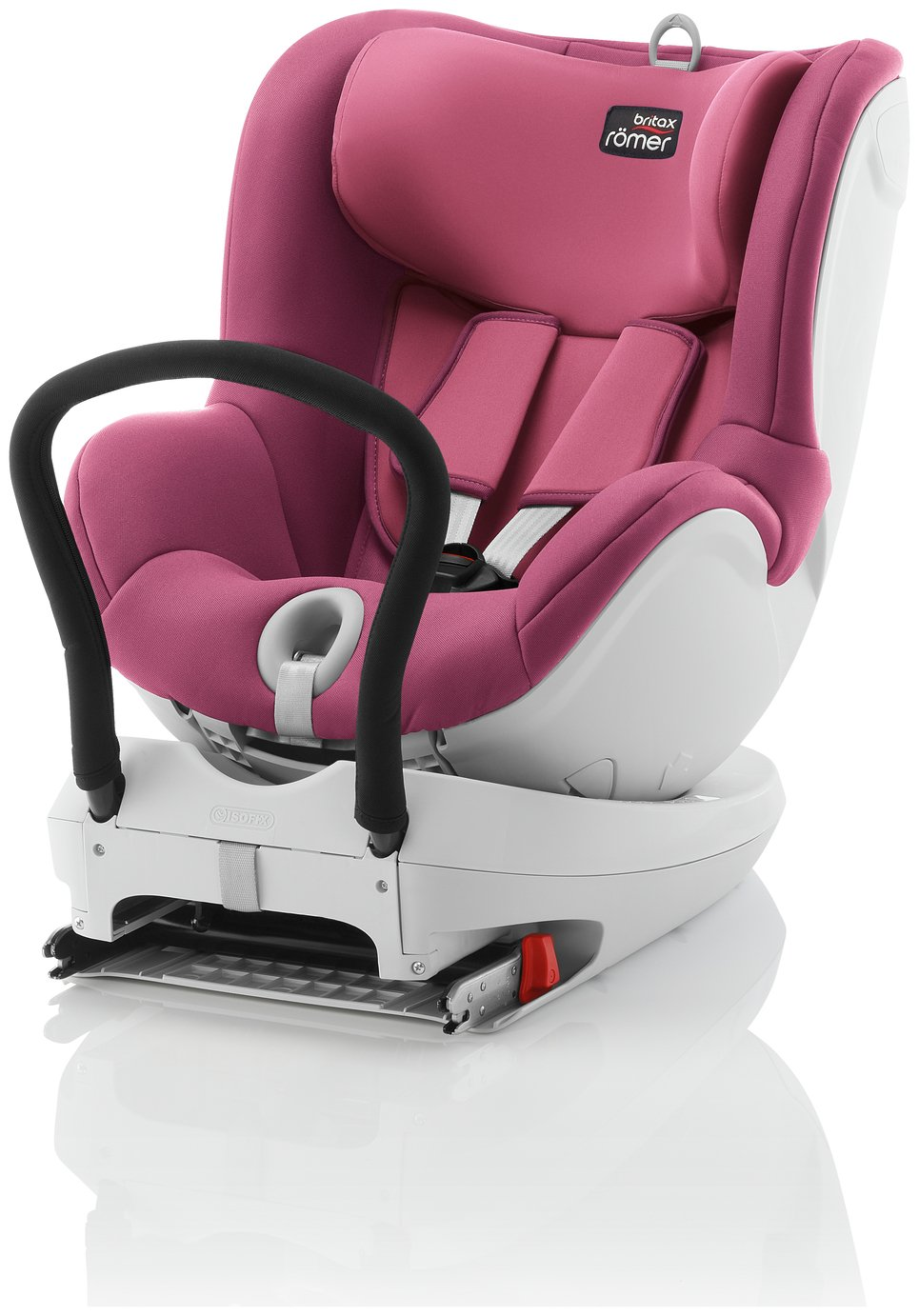 review of britax romer dualfix group 0 1 car seat wine rose. Black Bedroom Furniture Sets. Home Design Ideas