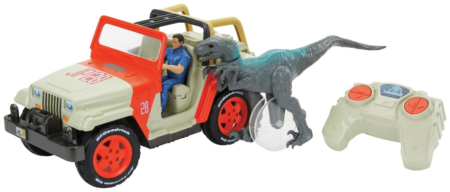Jurassic World Radio Controlled Jeep