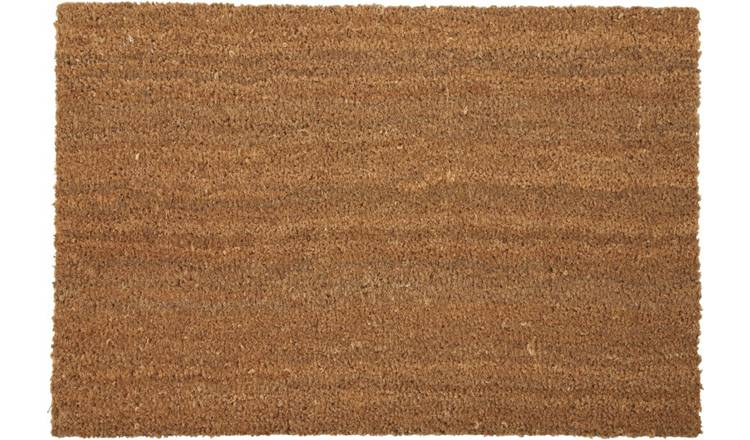Argos Home Coir Doormat - 40 x 60cm - Natural