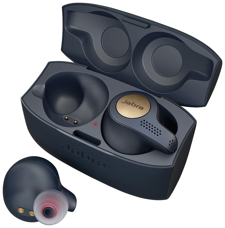 Jabra Elite Active 65t In-Ear True Wireless headphones–Blue