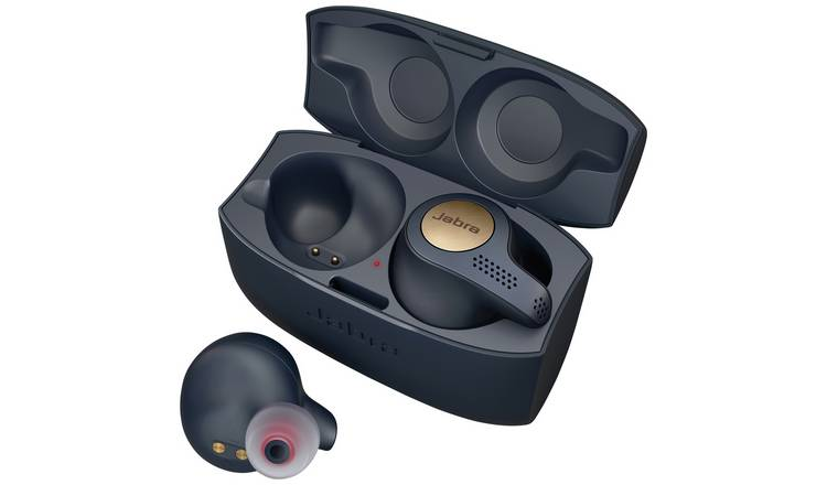 Buy Jabra Elite Active 65t In Ear True Wireless Earbuds Blue Headphones And Earphones Argos