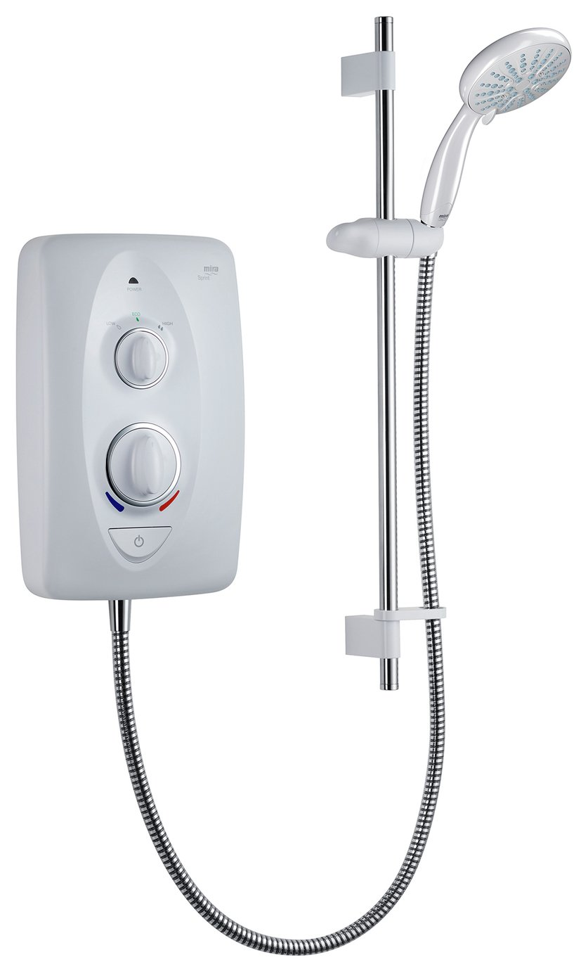 Mira Sprint 9.5kW Electric Shower - White
