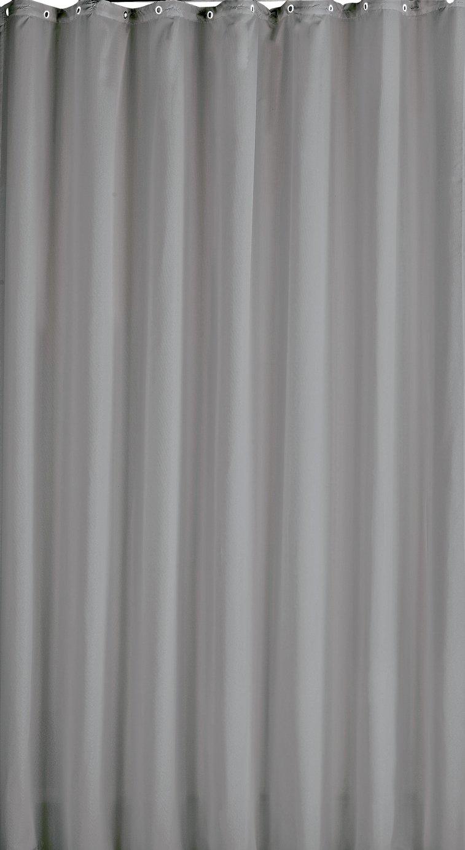 Argos Home Shower Curtain - Flint Grey